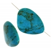 Turquoise Stablized Magnesite 34x46mm 8In Strand